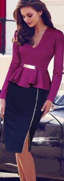 /V/-/V-Neck-Sequined-Ruffle-Tunic-Zipper-Pencil-Dress-3996727_1.png
