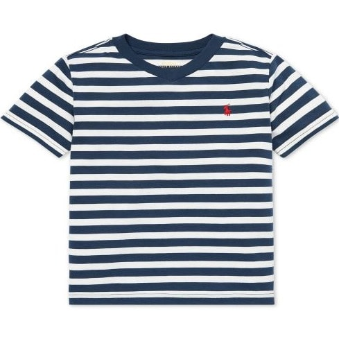 05e07ad0 Polo Ralph Lauren Boys Striped V-Neck T-Shirt | Konga Online Shopping
