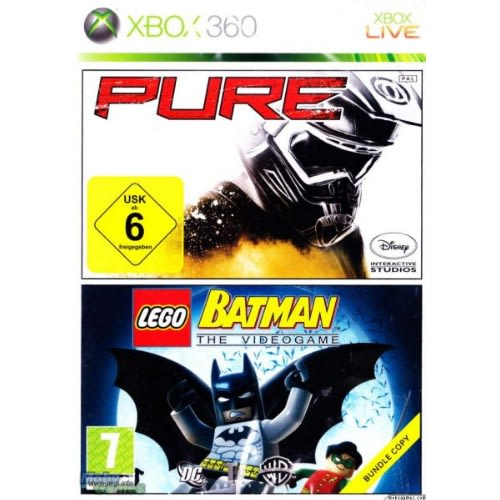Pure/lego Batman Double Pack - Xbox 360