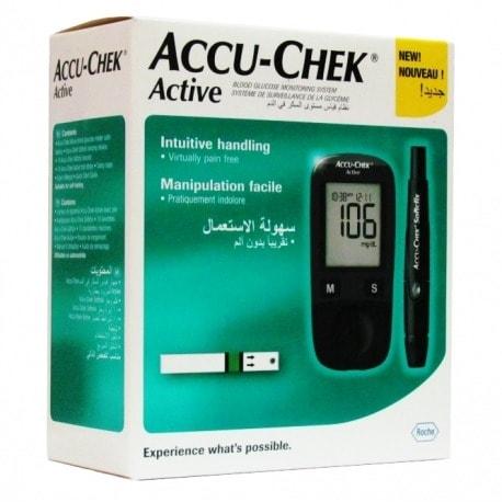 Accu - Chek Machine.