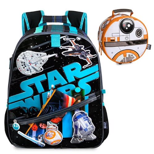 Star Wars 16inch Backpack And Lunch Bag