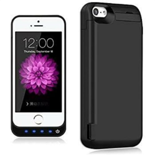 release date: 18156 9b5aa Premium Powerbank Case For iPhone 5 & 5s - Black