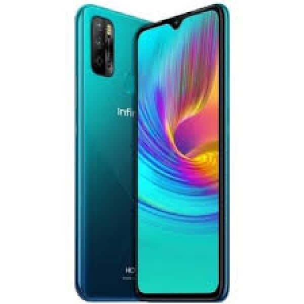 Hot 9 Play - X680 - Dual - 32GB ROM - 2GB RAM -4G LTE - 6000mAh-6.82''-13MP- Fingerprint- Cyan.