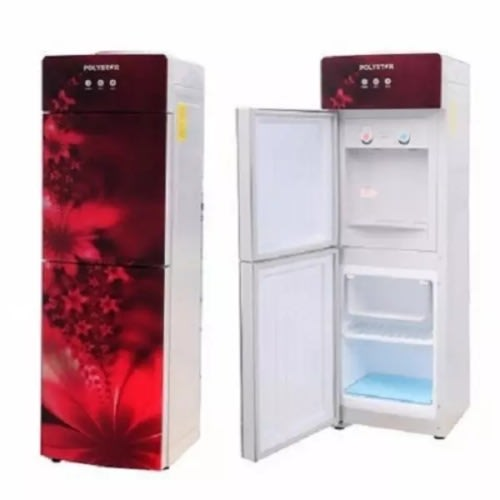 Water Dispenser, Auto Adjust, Hot And Cold With Fridge And Freezer