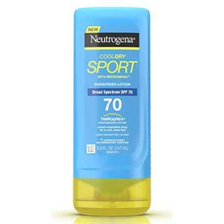 Cooldry Sport Sunscreen Lotion With Broad Spectrum Spf 70 - 147ml.