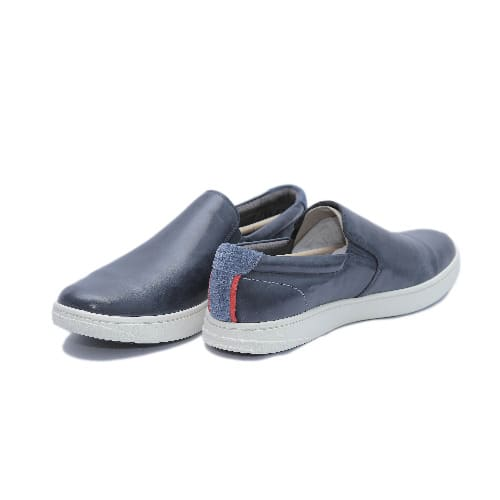 hush puppies blue loafers