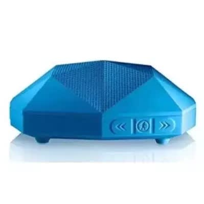 Outdoor Tech Turtle Shell 2.0 - Rugged Water-resistant Wireless Bluetooth - Blue