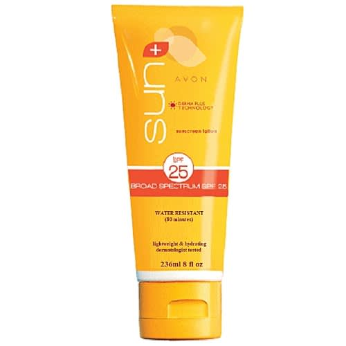 Sun+ Sunscreen Lotion Broad Spectrum Spf 25.