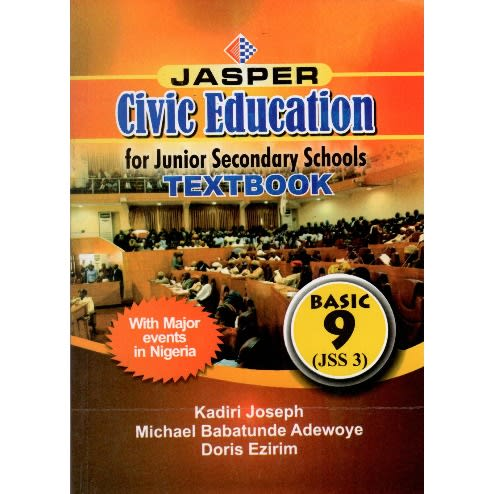 Civic Education For Jss 3 Textbook And Workbook