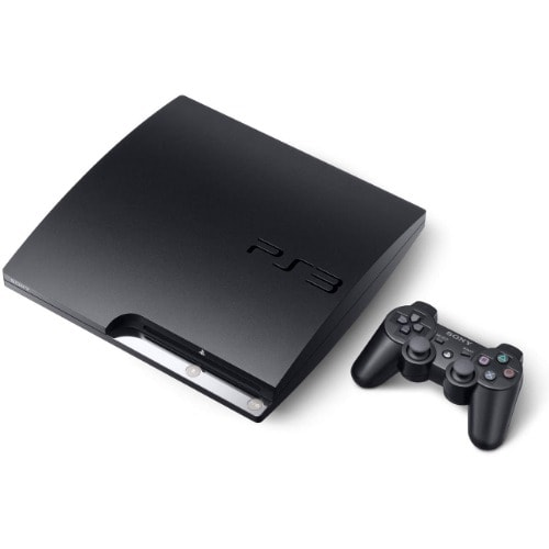 Sony PlayStation 3 Slim Console - 160GB With Dual Shock Wireless Controller
