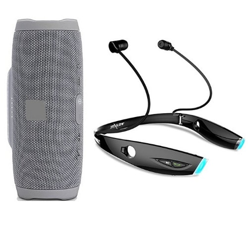 Charge 3 Portable Bluetooth Speaker & H1 Wireless Headset