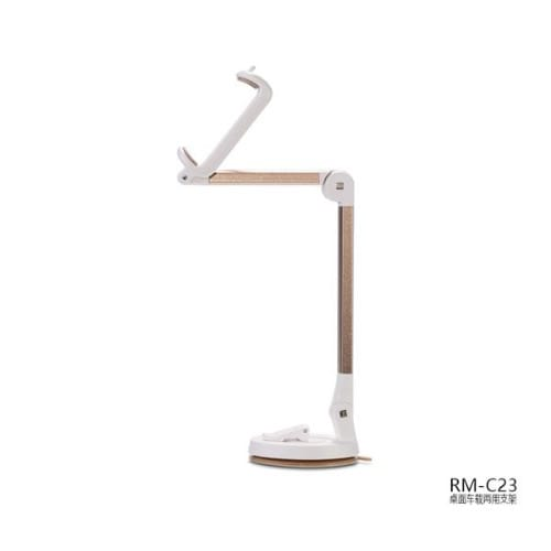 Rm-c23 Multi Angle Rotation Car Desktop Mount Holder Stand For Mobile Phone 3 To 6.3