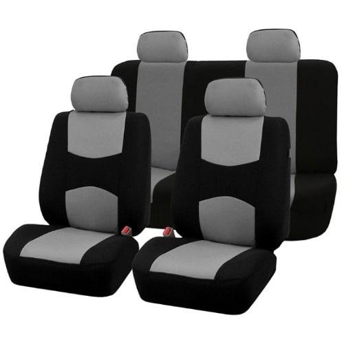 Unique Car Seat Cover Set Grey