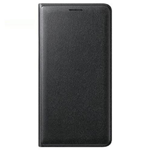 purchase cheap 163f8 c6472 Wallet Flip Case 2018 Edition For Samsung Galaxy J6 Black