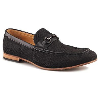 fa9eac3512c2 Men's Dressy Shoe With Bit - Black