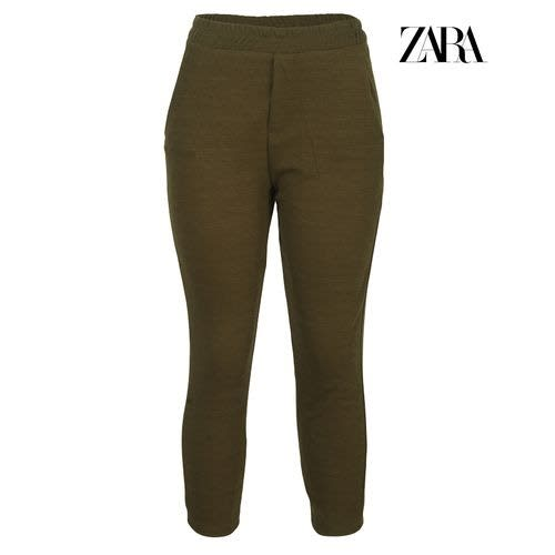 top-rated unequal in performance exquisite craftsmanship Linen Trousers With Drawstring - Khaki Green