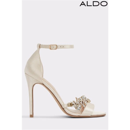 c39e82d21de Aldo Barely There Embellished Sandals.