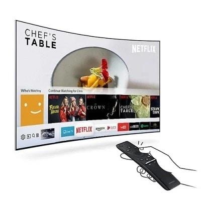 "65"" Uhd 4k Curved Smart Led Tv - 65mu7350 Series 7"