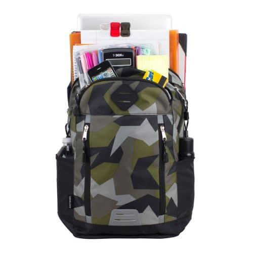 80c05d4108a7 Duluxe Sport School Backpack/laptop Bag Wt Multi Storage -camo