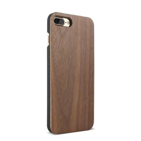 promo code 9a76e a6db2 Bamboo Back Case For iPhone 6 Plus - 6s Plus - Dark Brown