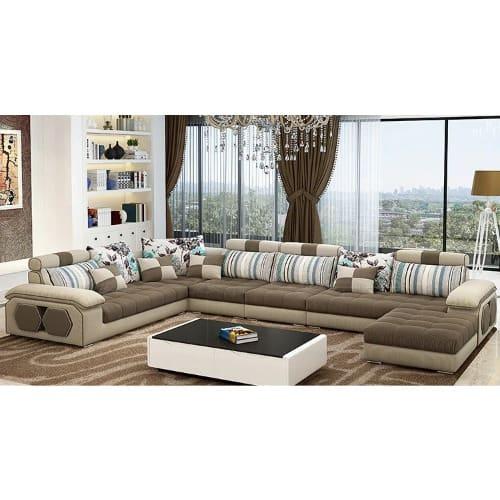 Santa Living Room Modular Sectional Sofa Set + (free Center Table) -