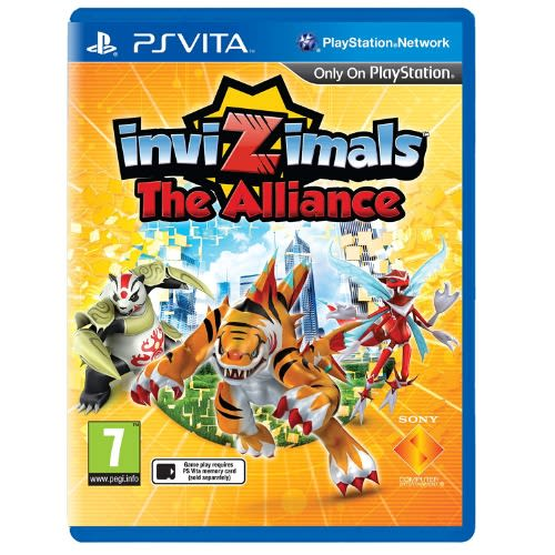 Invizimals: The Alliance- Playstation Vita)