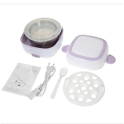 Electric Lunch Box - Mini Rice Cooker - Portable Food Steamer