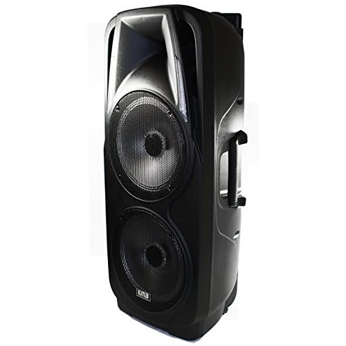 Vecaro Rechargeable Speaker System Built-in Bluetooth/SD/MMC/USB/Guitar Jack
