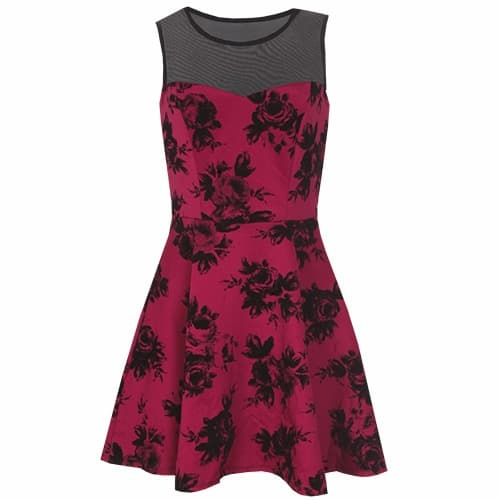 /V/e/Velour-Floral-Print-Dress---Wine-6089015_1.jpg