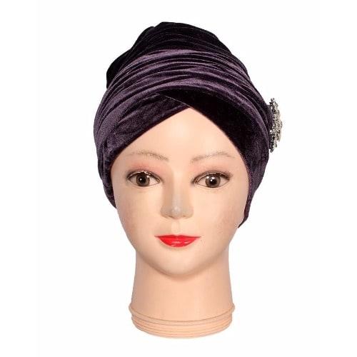 /V/e/Velvet-Turban-Scarf-With-Brooch---Purple-6427775.jpg