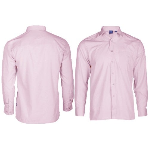 1528cb36 Veneccia Premium Men's Long Sleeve Plain Shirt - Pink | Konga Online ...