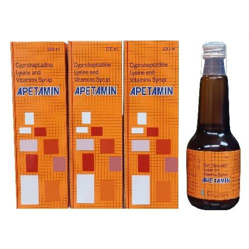 Vitamin Syrup Plus Free Gift - 3x - 200ml