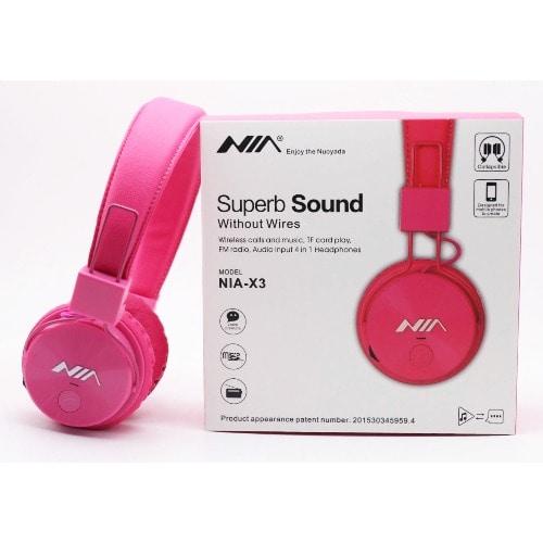 f998a4033b8 NIA-X3 4 IN 1 Bluetooth Stereo Headset. | Konga Online Shopping