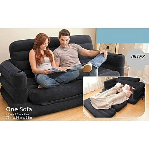 Awe Inspiring Inflatable Pull Out Sofa And Queen Bed Mattress Sleeper Alphanode Cool Chair Designs And Ideas Alphanodeonline