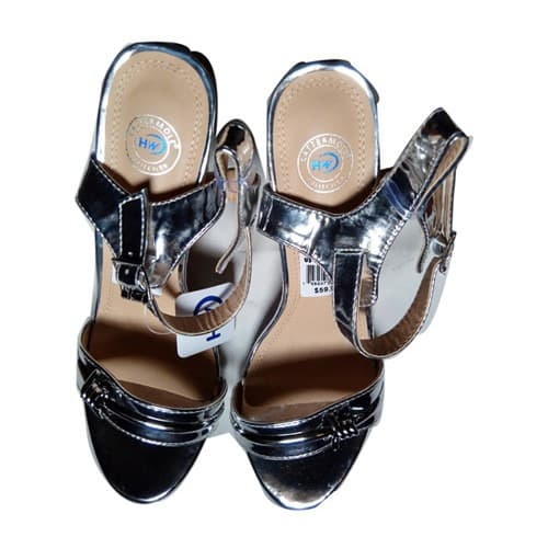 f62a118e09f Women s Glass Heel Sandals