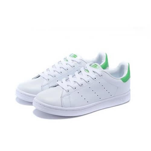 half off 99008 432ce Men's Stan Smith Sneakers - White & Green