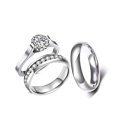 7214daba08a3ed Couple Wedding Ring Set | Buy Online | Konga Online Shopping