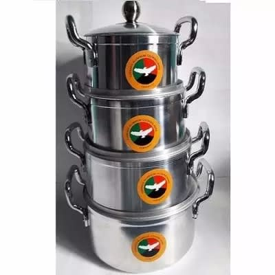 Cooking Pots - Tornado Germany - 4 Piece Set