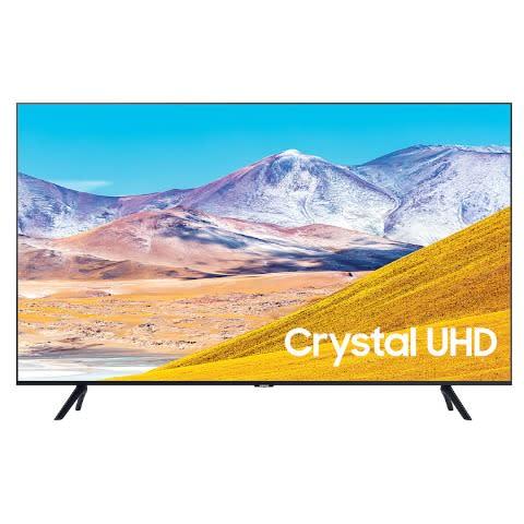 """50"""" Crystal UHD 4K Smart TV, 2020 -UA50TU8000UXKE."""