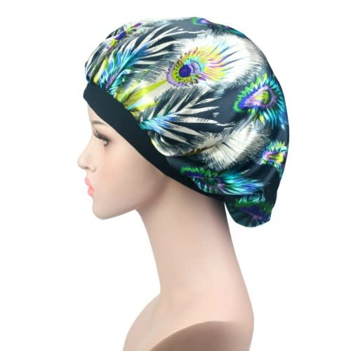 Rosyedged Reversible Satin Bonnet - Blue | Konga Online Shopping