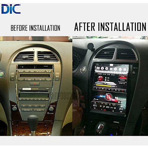 Lexus Es 350 Car Android Player With Gps Navigation, Bluetooth + Reverse  Camera