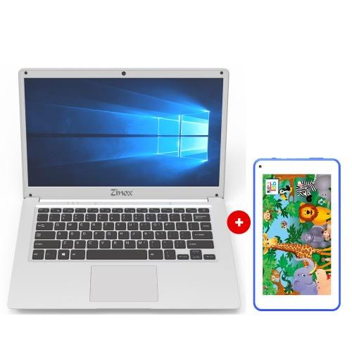 "Bijimi 14"" Laptop, Intel Dual Core 4gb Ram/500gb Hdd- Win 10 + Free Kids Legacy Tablet."