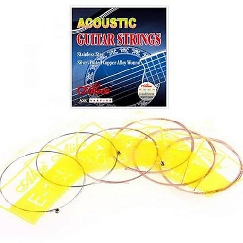 1a09307ec08 A Set of Acoustic Box Guitar Strings .
