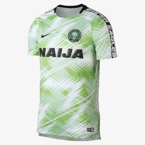 Nike Nigeria Super Eagles Tribute Floral 2018-19 Football Tracksuit ... 54e8c51a3