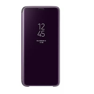 the best attitude 6f0a4 ba6af Clear View Case For Samsung Galaxy S9 Plus - Purple