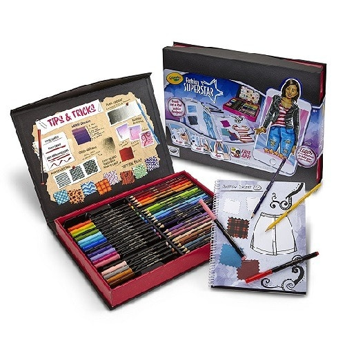 f3d2a39f32c Crayola Fashion Superstar, Coloring Book & App, Toy for Girls, Gift ...