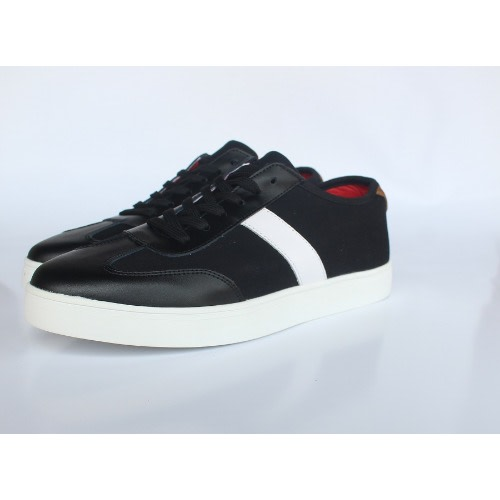 317015e6647b Men s Leather Mix With Fabric Sneaker.