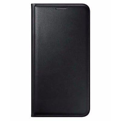 best service 96ec1 70391 Flip Wallet Case For Samsung J5 Pro - Black