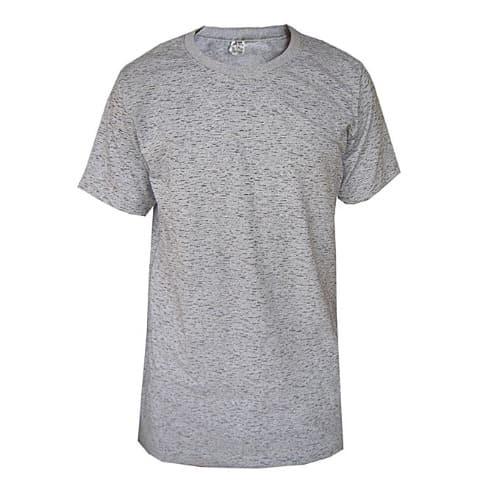 d441543d650 Men s Dash Short Sleeve Round Neck Plain Shirt - Grey