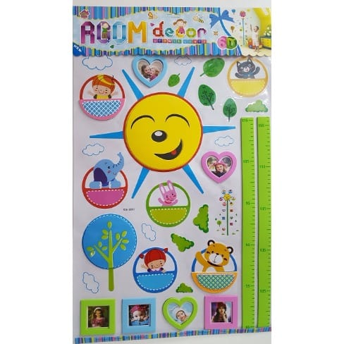 Wall Sticker Growth Chart With Photo Frame Konga Online Shopping